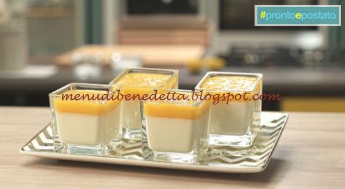 Pronto e postato - Bavarese al mango ricetta Benedetta Parodi