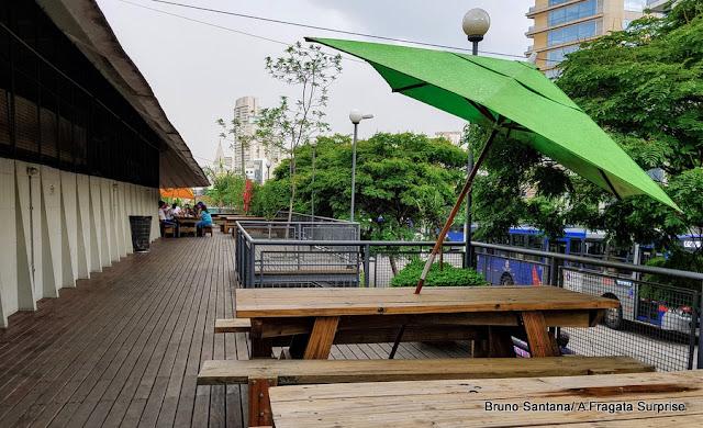 área externa do Mercado de Pinheiros, São Paulo
