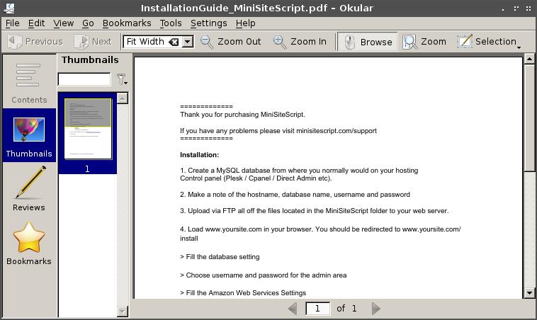 How to install PDF reader (Adobe reader, xpdf, foxit reader, okular, epdf, etc) on Archlinux