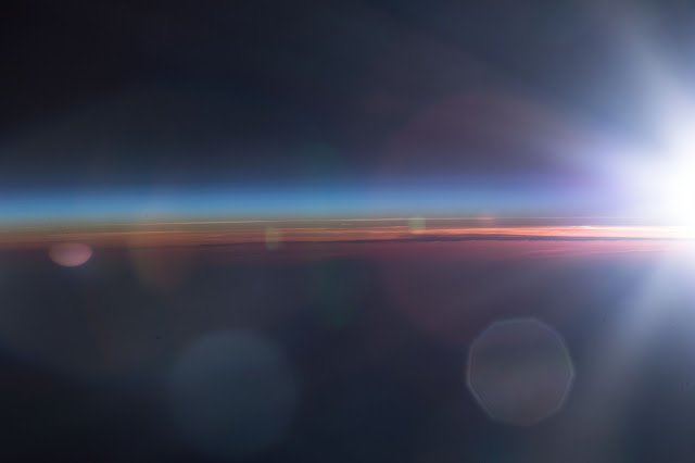 sunrise from international space station - photo #4