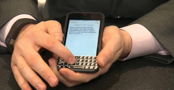 BlackBerry gana de nuevo, después de casi 3 meses de que BlackBerry había presentado una demanda en contra de Ryan Seacrest y Typos Products LLC en un intento de bloquear las ventas del diseño clon de sus teclados físicos. Esta victoria impide a partir de ahora a Typos Product's LLC la venta de sus teclados Typos en $ 99 que fueron diseñados para el iPhone. Ryan Seacrest y Typos Products intentaron luchar contra BlackBerry en este caso, pero al final con una combinación de las patentes de BlackBerry y su diseño de teclado icónico permitieron que el tribunal diera la