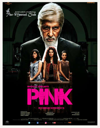 Poster Of Pink 2016 Hindi 720p BRRip ESubs Watch Online Free Download downloadhub.in