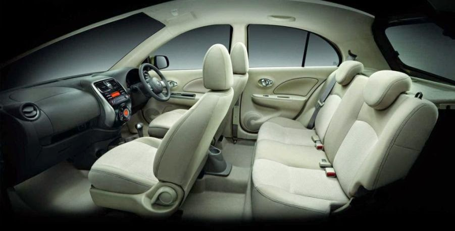 Interior Kabin Nissan March 2015
