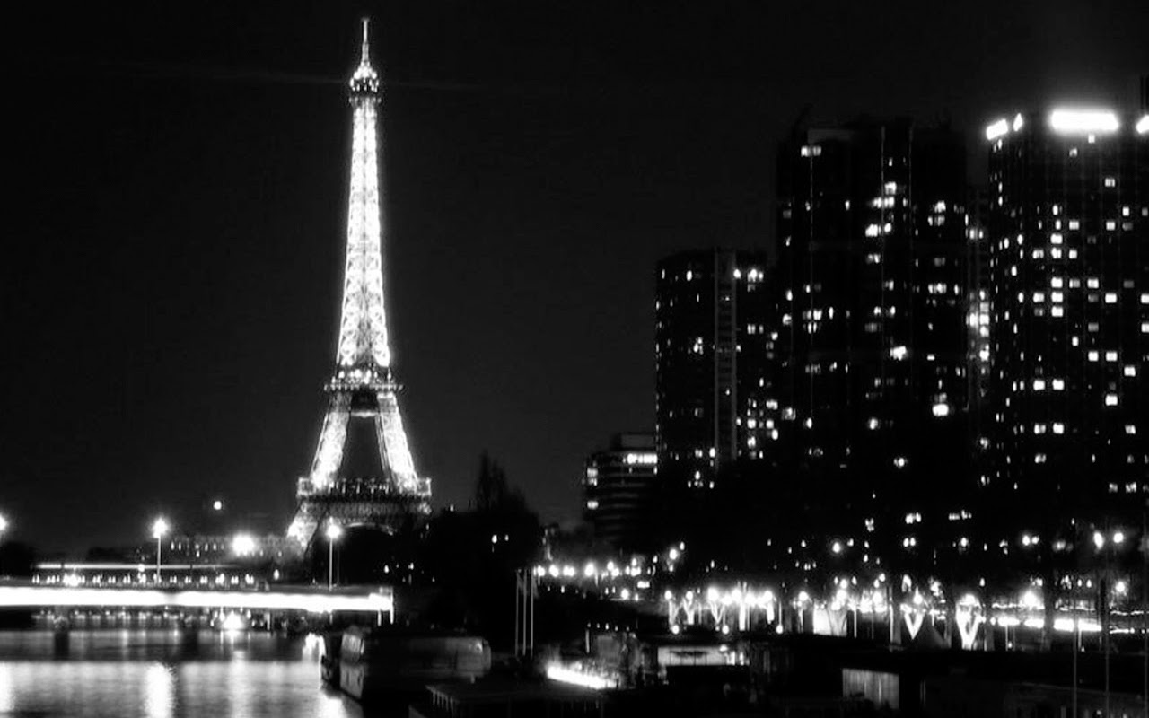 eiffel tower night desktop backgrounds - eiffel tower night
