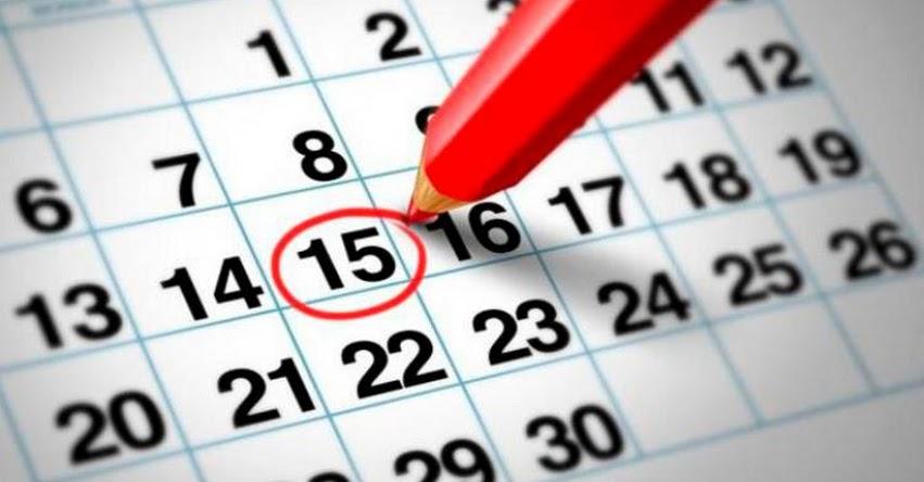 Estos son los feriados en Junio 2018: Lista completa de días no laborables