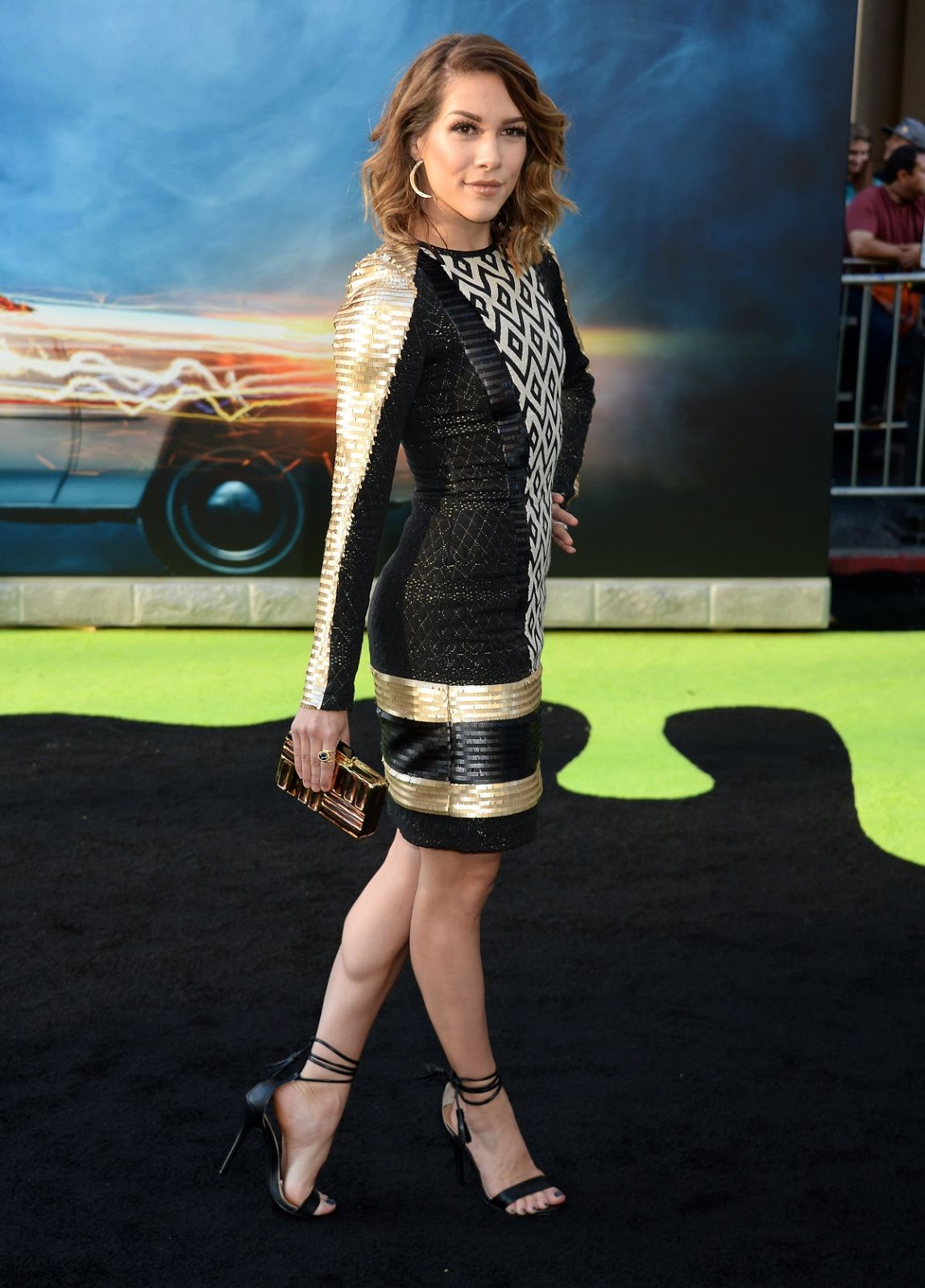 Dancer Allison Holker at Ghostbusters Premiere in Hollywood