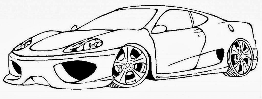 Desenhos De Ferrari Para Colorir E Imprimir Desenhos