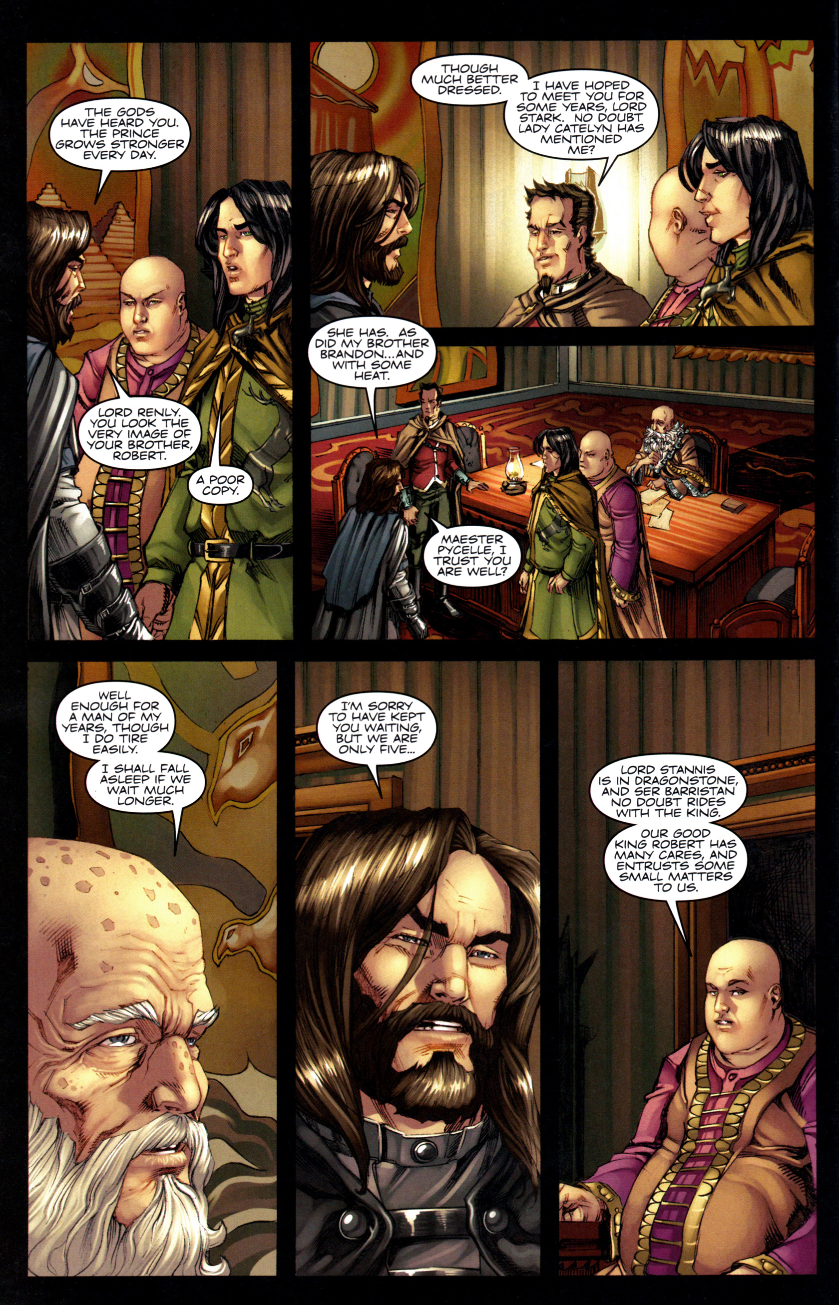 Read online A Game Of Thrones comic -  Issue #6 - 14