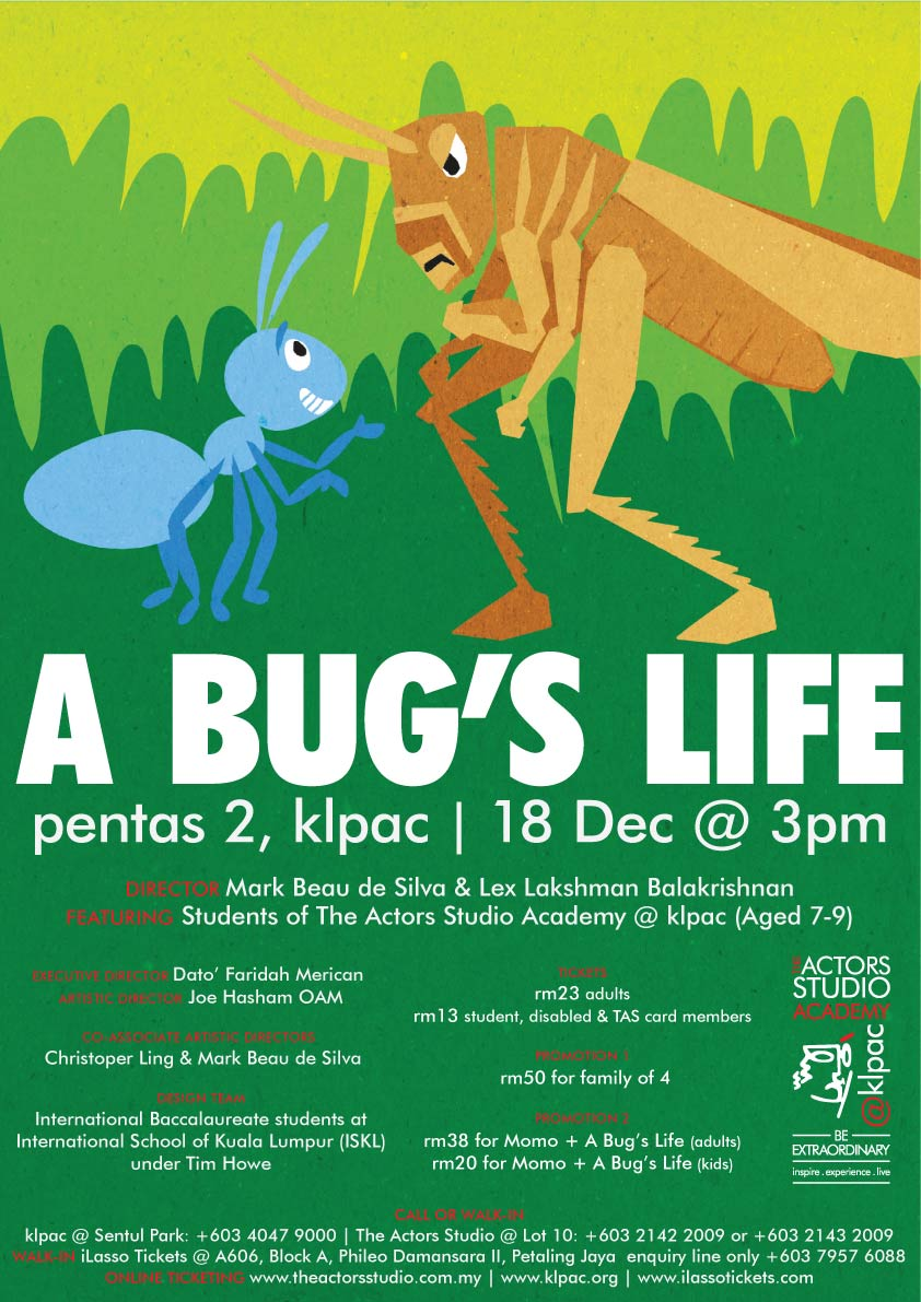 It's just an image of Exhilarating A Bug's Life Poster