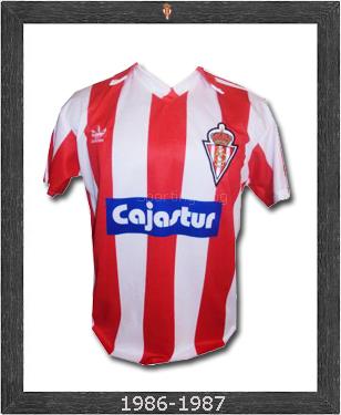 Sporting de Gijón: Camisetas del Sporting de Gijón