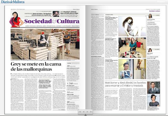 Diario de Mallorca   Grey se mete en la cama de las mallorquinas