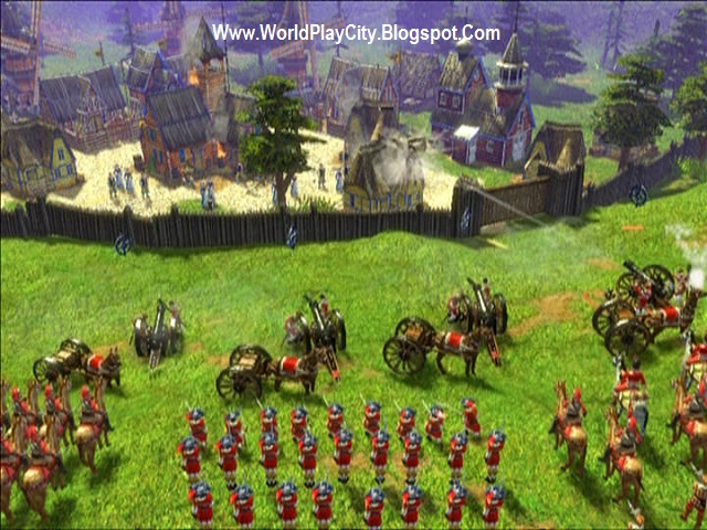 Age of Empires III Highly ultra compressed game download for pc