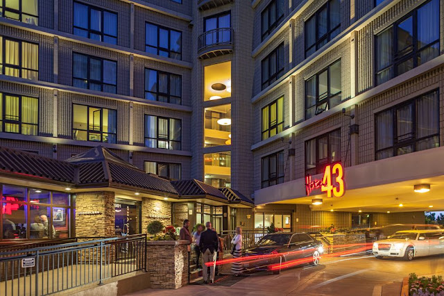 Welcome to Hotel 43 in Boise on the 43rd parallel in the 43rd state featuring spacious rooms, shuttle service, Stash Rewards, & PURE® wellness rooms!