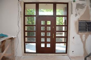 Прибалтийская входная дверь