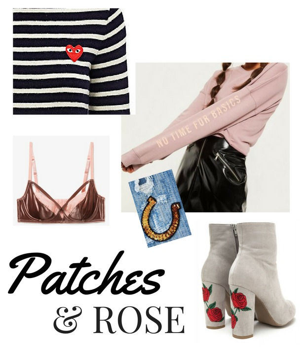 Trending Dusty Rose and Patches