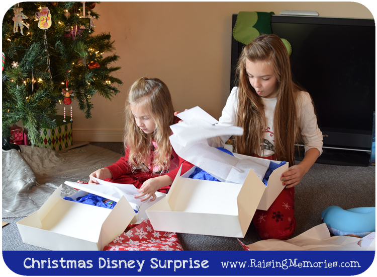 Creative Way to Reveal a Surprise Disney Trip