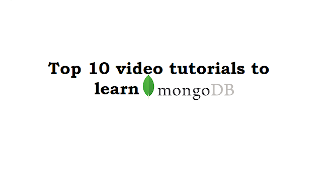 Top 10 Best MongoDB video tutorials
