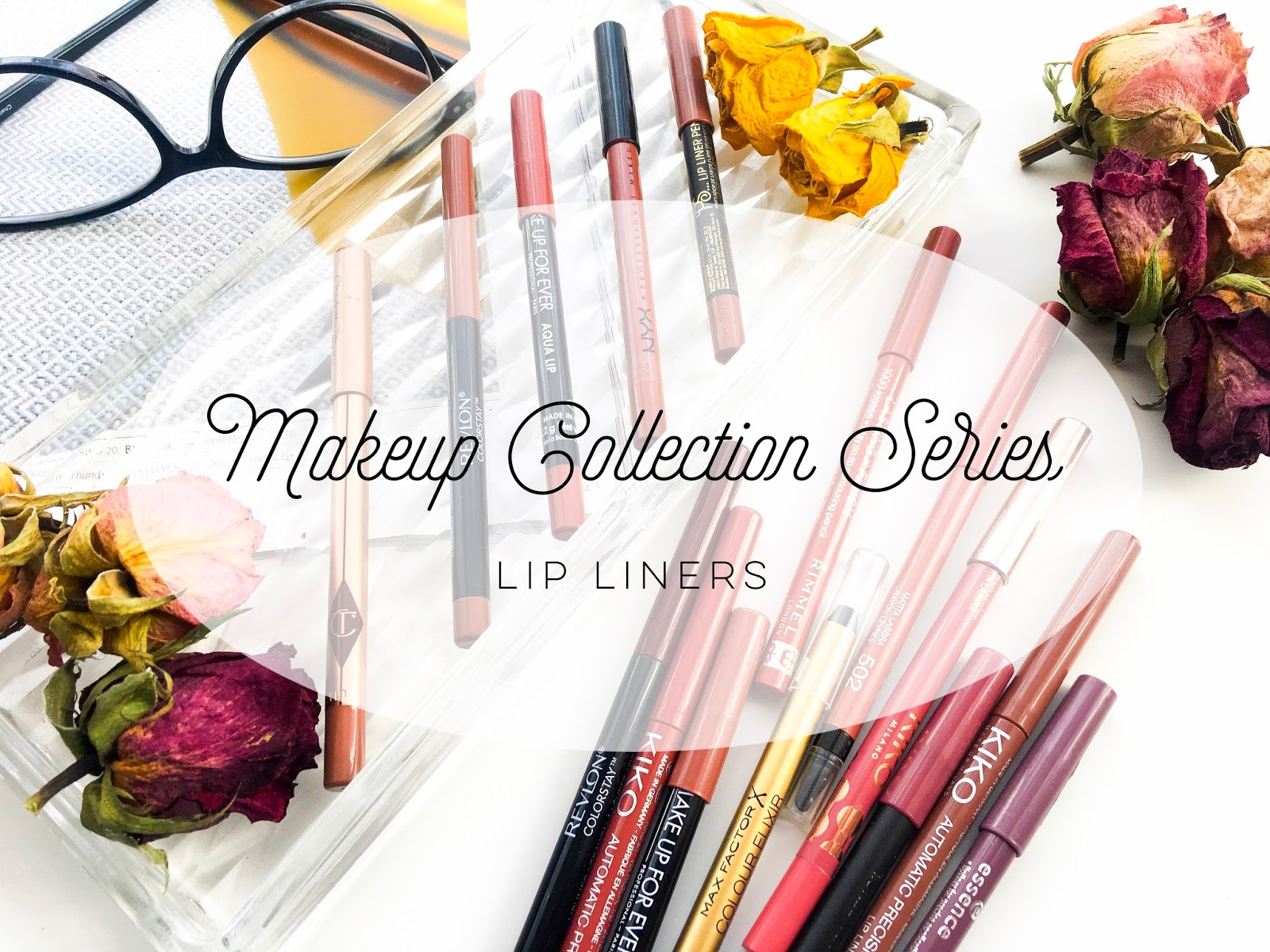 lip liners, lip liner collection, ummbaby makeup collection lip liners