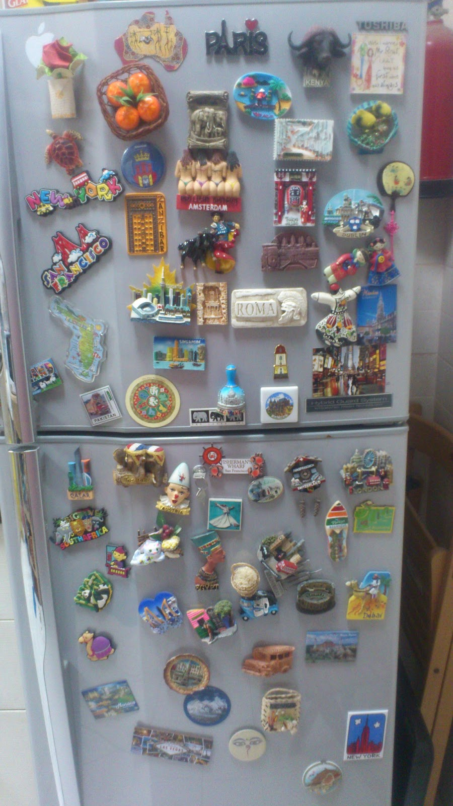 Bouncing Board : My fridge magnet collection