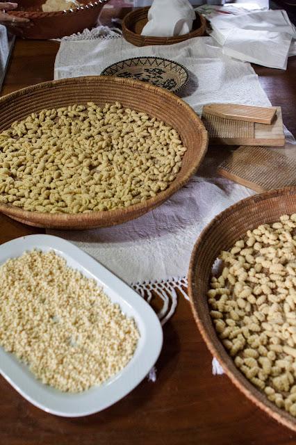 Malloreddus e fregola a mano-Agriturismo il Giglio a Massama