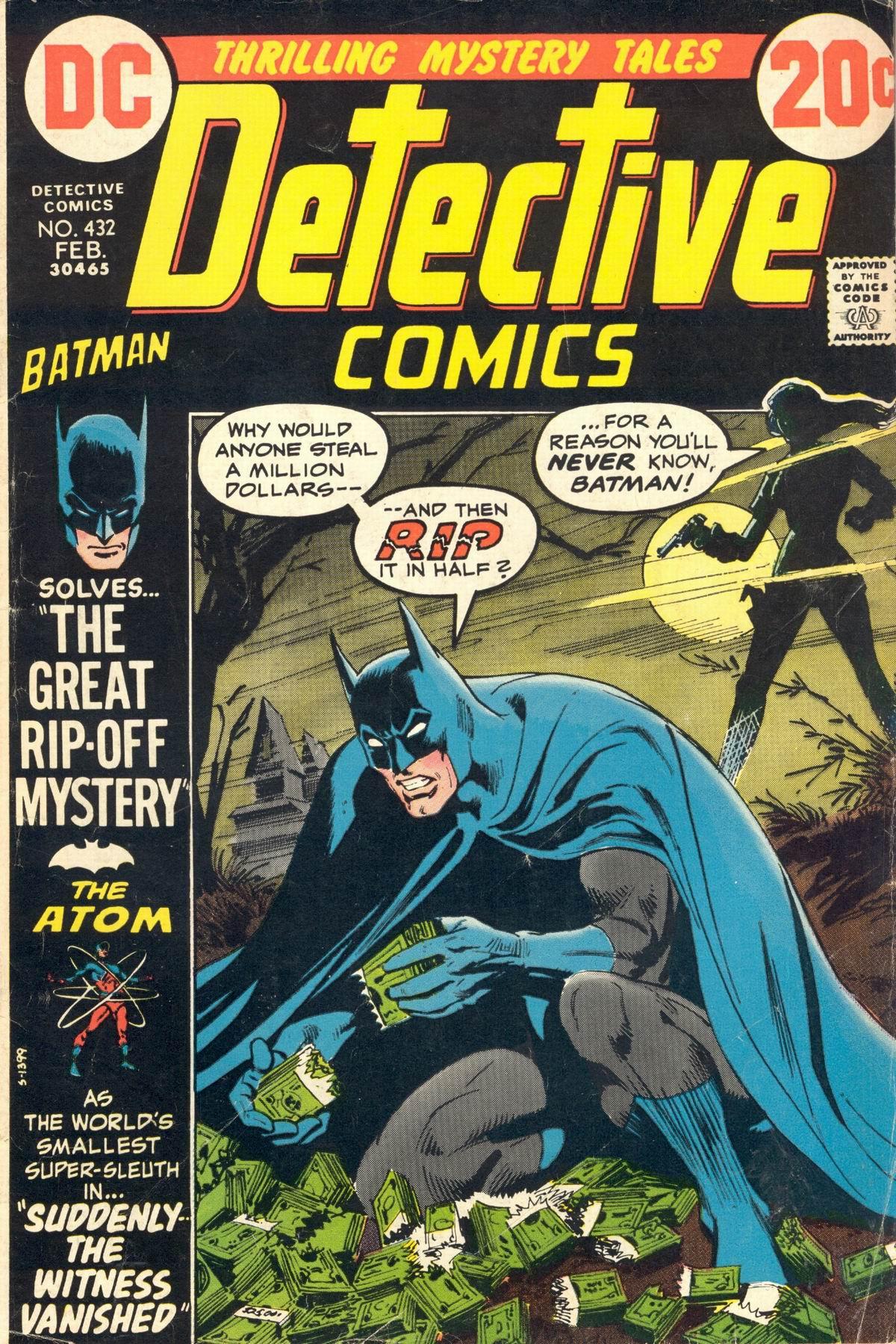 Detective Comics (1937) 432 Page 1