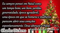 Frases Natalinas de Charles Dickens