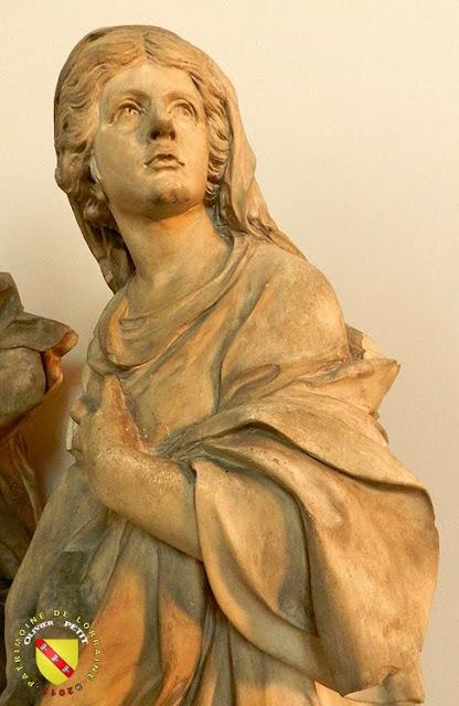 NANCY (54) - Musée lorrain : Génie tenant le portrait de Jean des Porcelets - Allégorie de l'Espérance