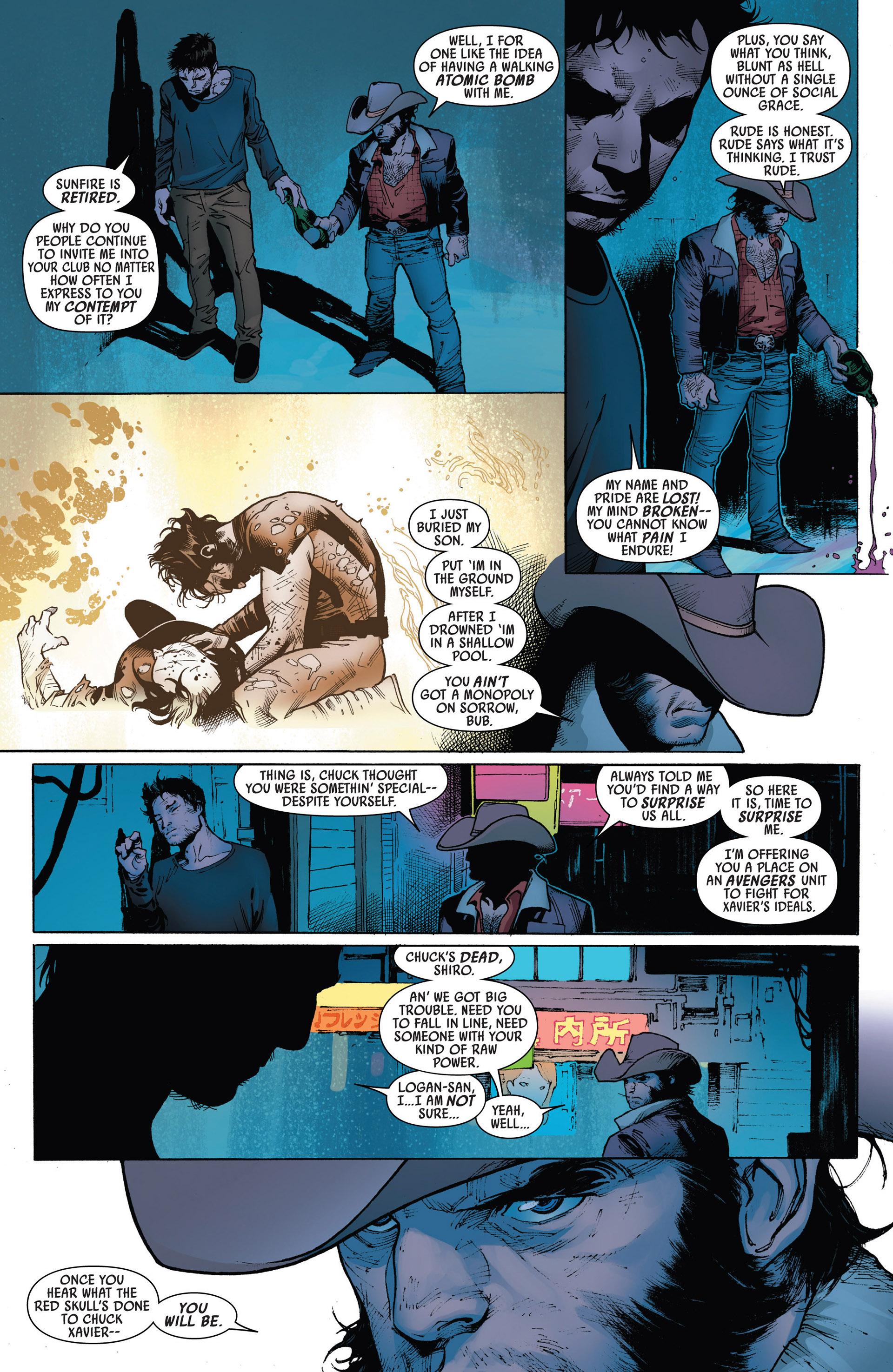 Read online Uncanny Avengers (2012) comic -  Issue #5 - 12