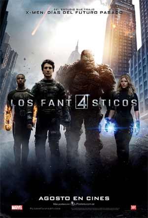 Los 4 fantásticos (2015) Online latino Español hd