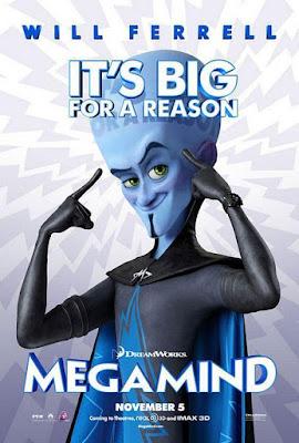 Megamind 2010 DVD R1 NTSC Latino + CD