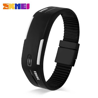 SKMEI Wristband Jam Gelang LED - 1099A by omahkitastore