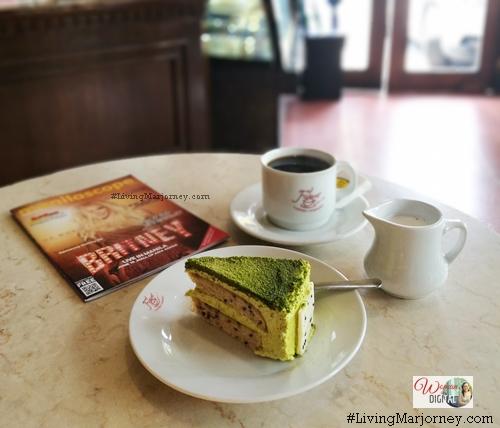 Figaro Kyoto Kotobuki Matcha Cake