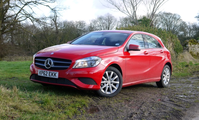 Mercedes A-Class A180 front view