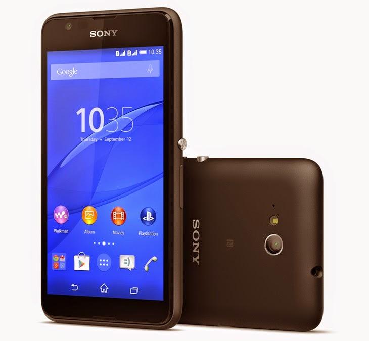 Sony Announces LTE Version of The Xperia E4