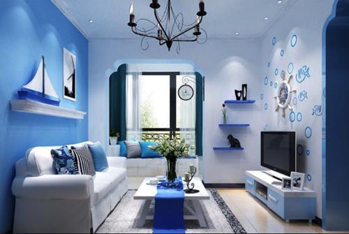 Agar Ruangan Rumah Tampak Luas Berikan Warna Baru
