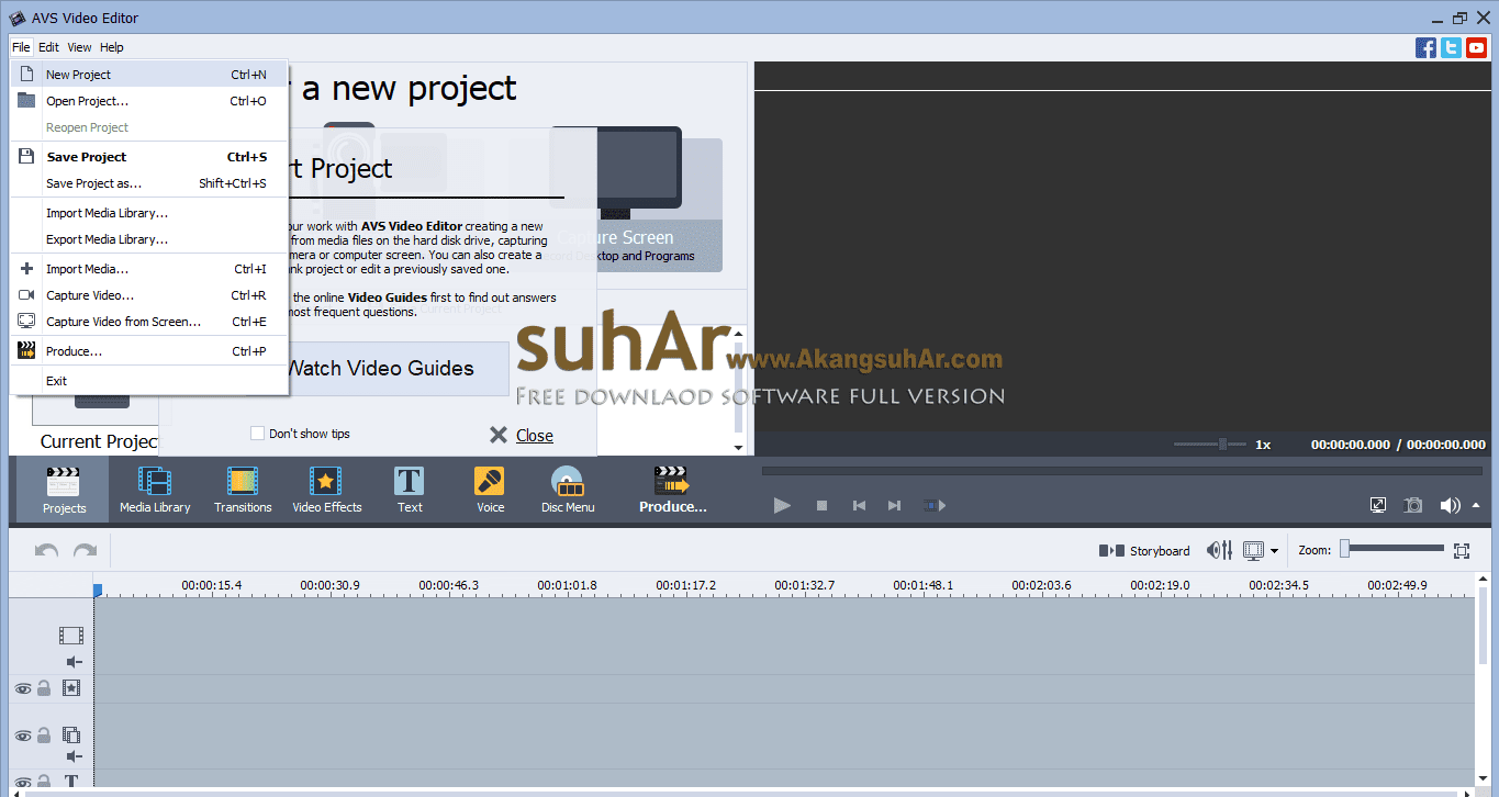 Free Download AVS Video Editor Full Version