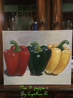 3chilesdulces-3peppers-artedonypasion-costarica-cynthia-peppers-acrylicpainting