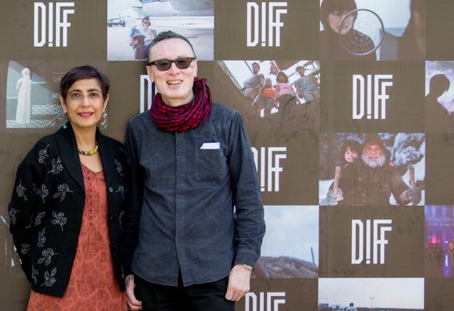 DIFF Festival Directors Ritu Sarin and Tenzing Sonam