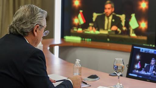 Alberto Fernández en la Cumbre del Mercosur