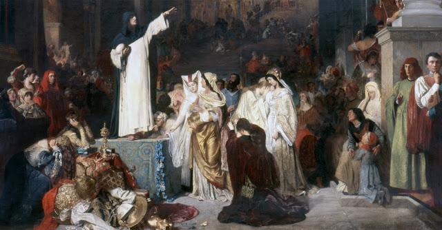 Savonarola-predicando