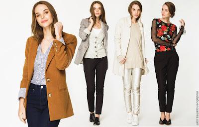 Clásicos urbanos reversionados: Looks otoño invierno 2018 by Asterisco ropa de mujer.| Moda otoño invierno 2018.