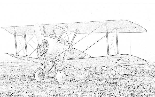 biplanes coloring pages coloring.filminspector.com Sopwith Camel