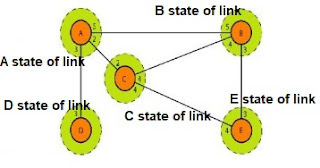 Link state knowledge