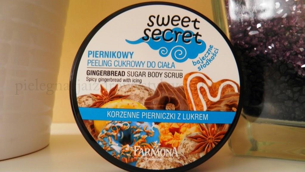 Piernikowy peeling cukrowy do ciała Farmona Sweet Secret