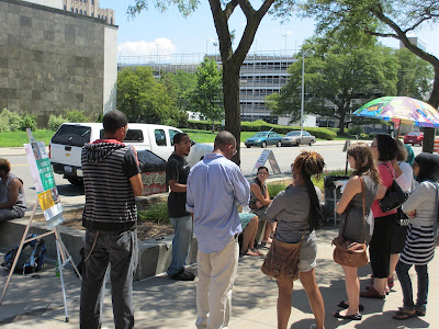 InsideOut Poetry Event at Wayne State Farmers Market