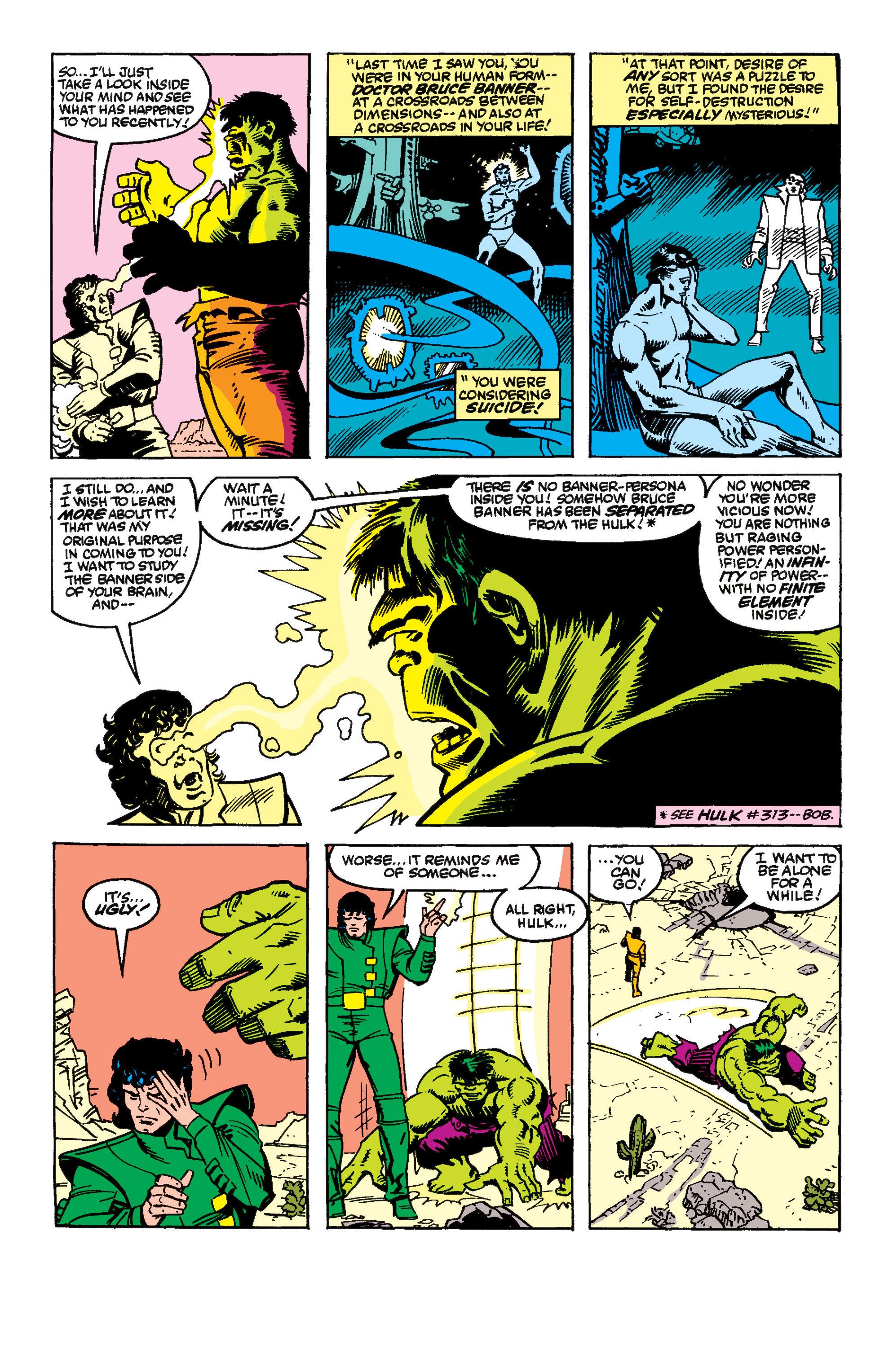 Read online Secret Wars II comic -  Issue #8 - 19