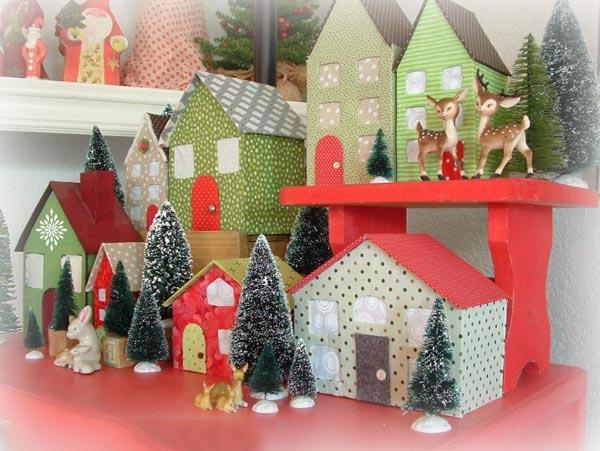 kartondan maket ev yapımı modelleri