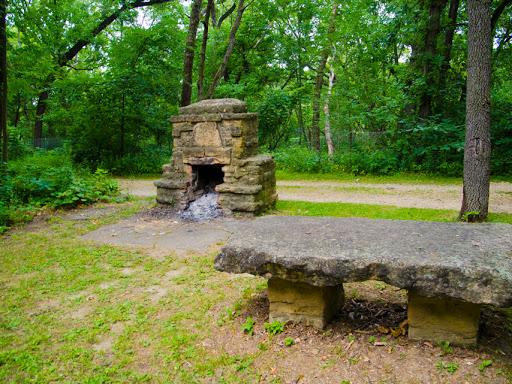Hoyt Park - Depression Era Structures