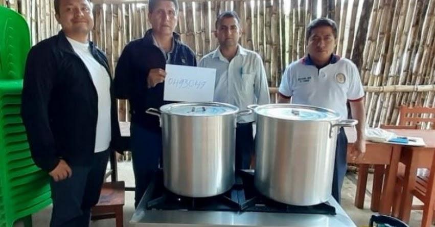 QALI WARMA: Programa social entrega cocinas y ollas a instituciones educativas en las provincias de Santa Cruz, Chota, Cutervo, San Ignacio y Jaén - www.qaliwarma.gob.pe