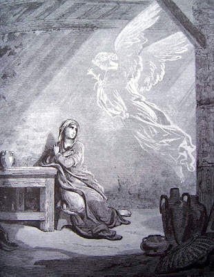 L'Annonciation de Gustave Doré